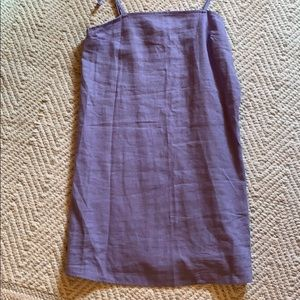 Urban Outfitters purple slip dress